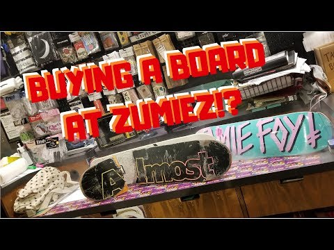 HOW TO BUY AND BUILD A BOARD AT ZUMIEZ | Skate Vlog