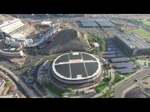 Arizona State University Drone Video, DJI Phantom 3