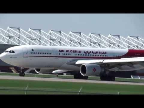Air Algerie A330-202 (7T-VJX) Landing 24L CYUL Montreal