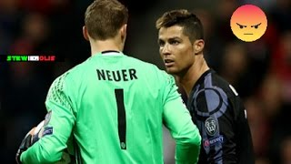 The Best Footballers Fighting Each Other ● Cristiano Ronaldo,Messi,Neymar,Bale,Neuer ● 1080i HD