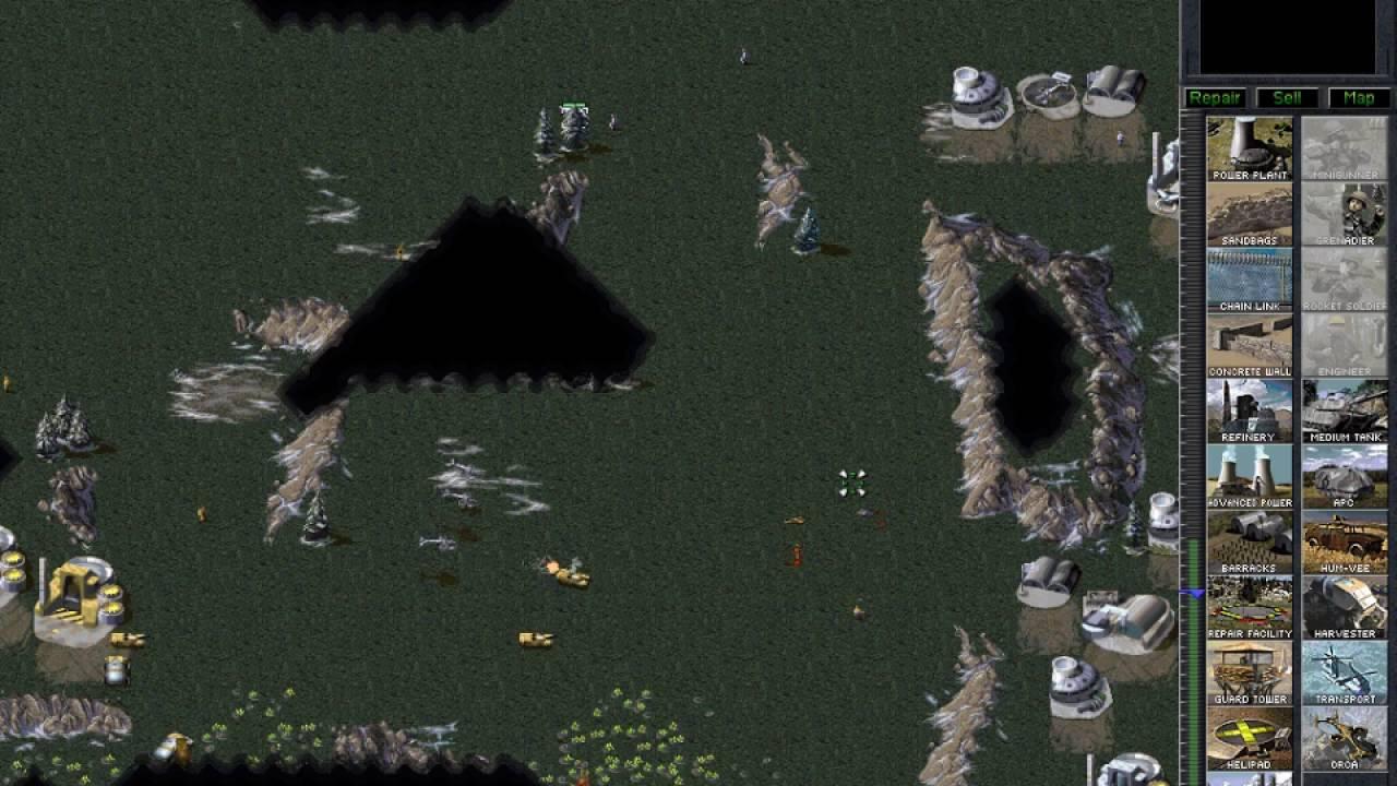 Command & Conquer: Tiberian Dawn - GDI v GDI - Orca transition