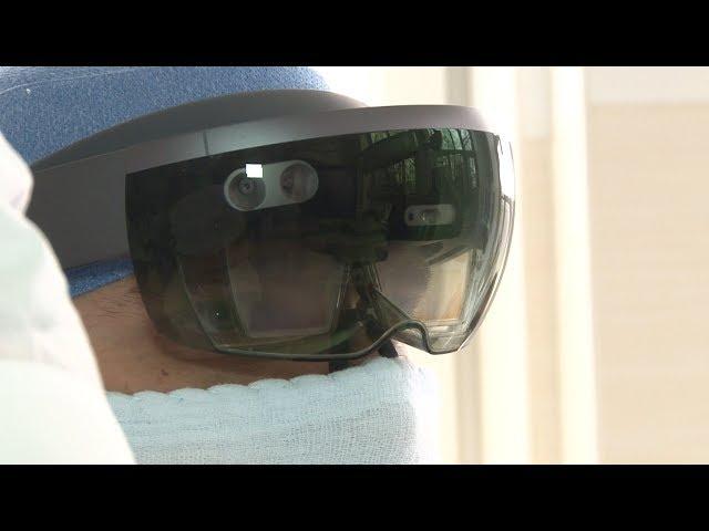 Ставропольские хирурги проводят операции в очках дополненной реальности