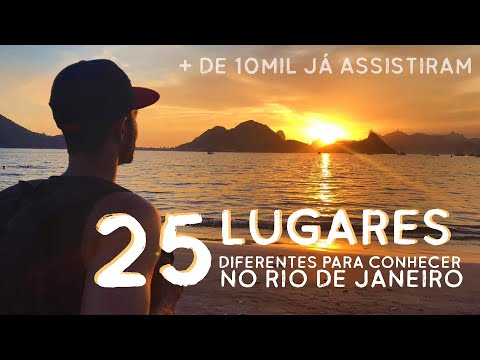 25 Lugares para Visitar no Estado do Rio de Janeiro - Turismo - Passeios - Trilhas