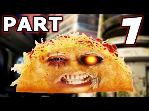 DEADPOOL The Videogame Gameplay Walkthrough - Part 7 - Taco Cable!