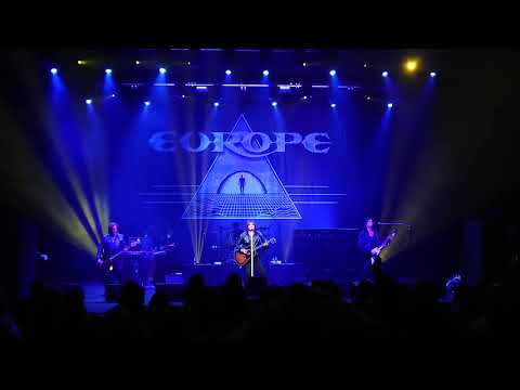 Europe  Prisoners in Paradise  Palais Theatre  Melbourne Australia 19th May 2018