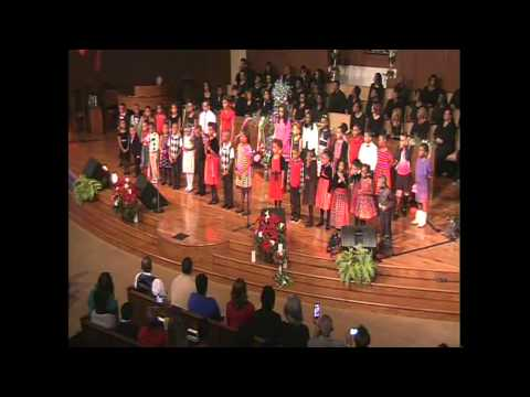 Children's Choir Happy Birthday Jesus - The Greatest Gift 2014 Christmas Production