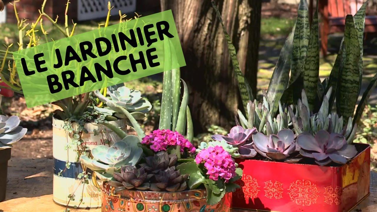 Jardinier Branche Des Boites A Fleurs Sans Entretien Youtube