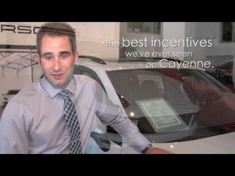 2016 Porsche Cayenne Finance and Leasing Incentives | Porsche Centre Calgary