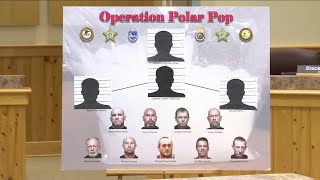 13 charged, 20 pounds of meth seized in 'Operation Polar Pop'