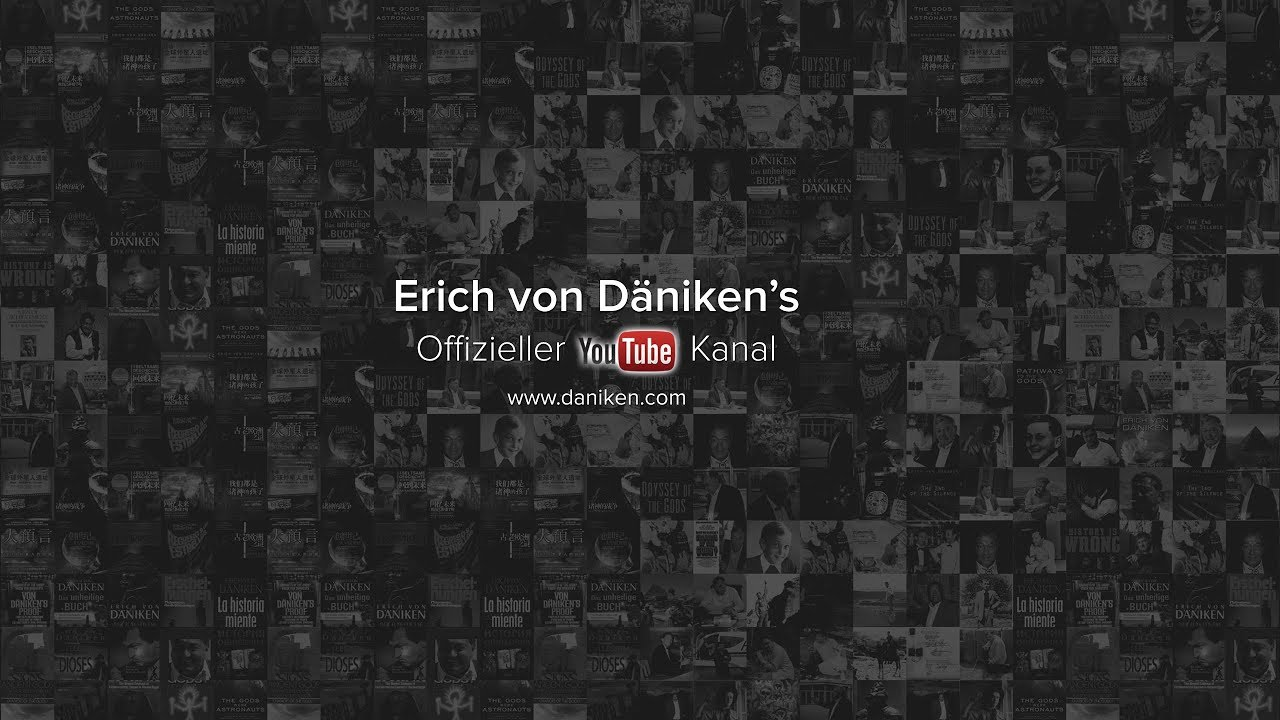 Erich von Däniken's  Official YouTube Channel - Like, Share & Subscribe