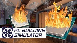 SPALONE PROCESORY - PC Building Simulator #19