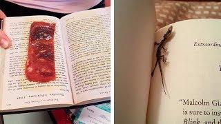 Самые странные вещи, найденные в старых книгах