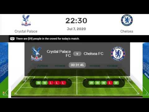 Chelsea Vs Crystal Palace Live, Premier League Crystal Palace Vs Chelsea Live Streaming