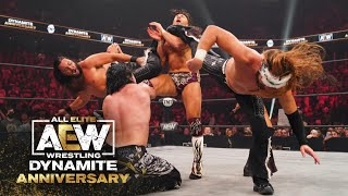 Why are the Super Elite the Best Thing Going in Wrestling Today?   AEW Dynamite: Anniversary