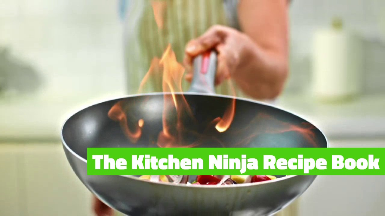 the kitchen ninja recipe book - youtube