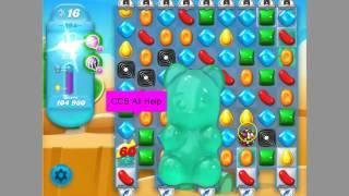 Candy Crush Soda Saga level 394 No Boosters