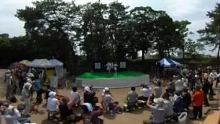 [360°動画] きみともキャンディ 2017.7.23 丸亀城納涼フェスタにて(一...