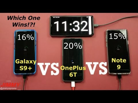 Fast Charge (Samsung) VS Dash Charging (OnePlus) 0%-100% CHARGE TEST!!