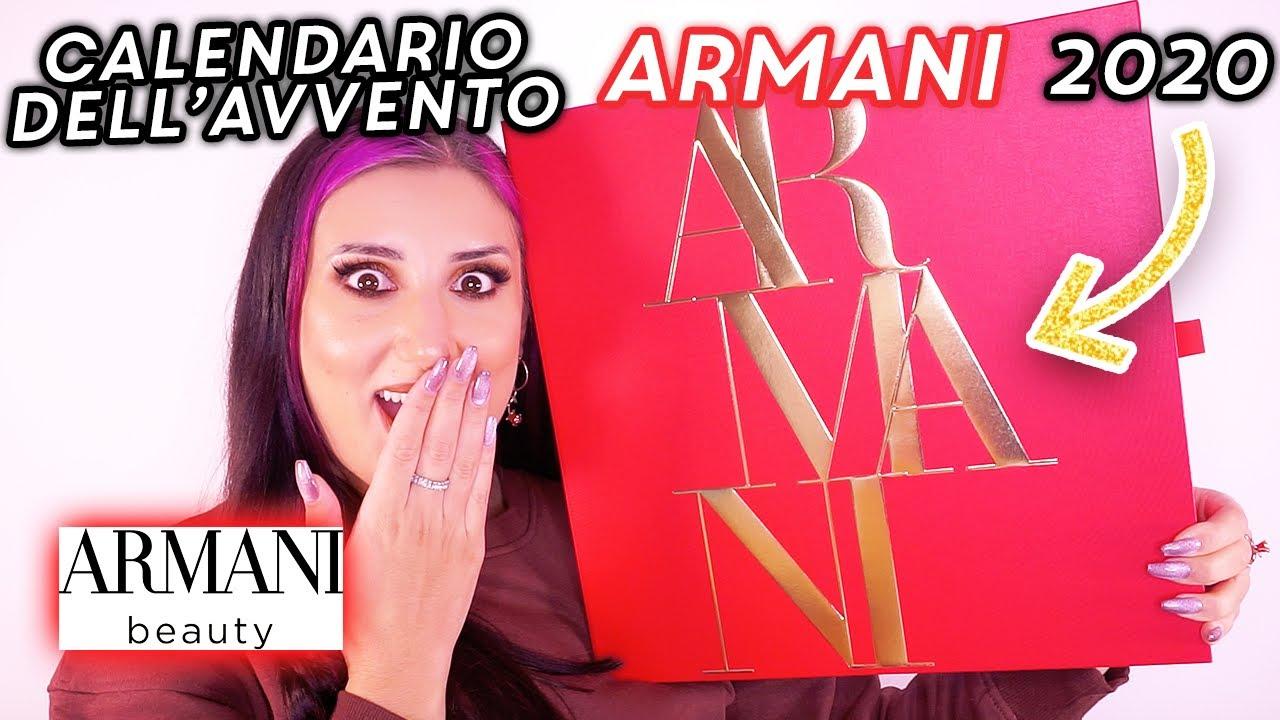 CALENDARIO DELL'AVVENTO ARMANI BEAUTY 2020 🎁