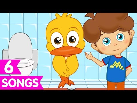 Potty time song | +More Nursery Rhymes & Kids Songs | Happy Kids Learning