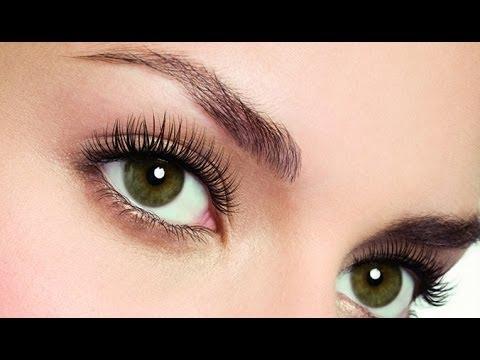Здоровые глаза  Длинные ресницы
