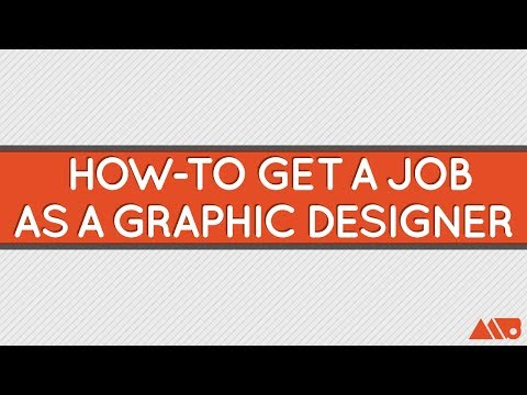 How to Get a Job as a Graphic Designer