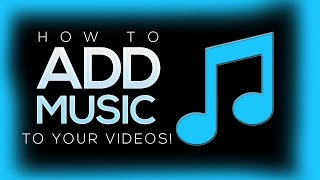 How To Add Music To Your Youtube Videos With Youtube Editor! (2015)(Hey Guys! This video will show you how to add music to your Youtube videos easily! If this video helped you please drop a like and subscribe. Thanks for ..., 2014-08-13T03:27:03.000Z)