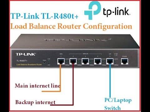 TP Link TL R480 Load Balance Router Configuration