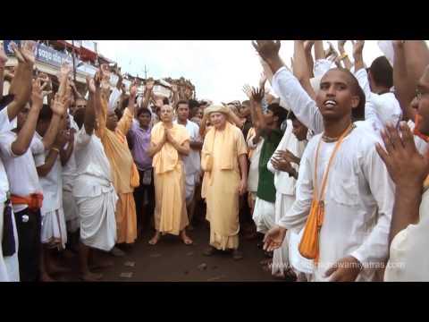 Puri Rath Yatra with Radhanath Swami