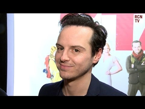 Andrew Scott Interview -  Comedy, Nudity & Moriarty - The Stag UK Premiere