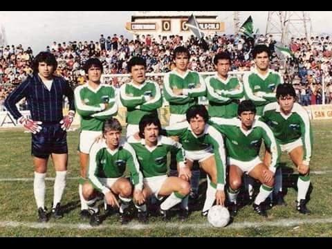 Cobreandino vs Colo Colo Campeonato Apertura Polla Gol 1986