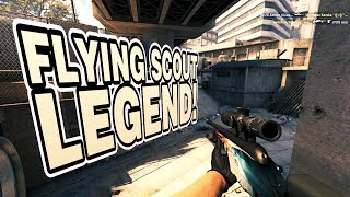 CS:GO biBa the flying scout legend!