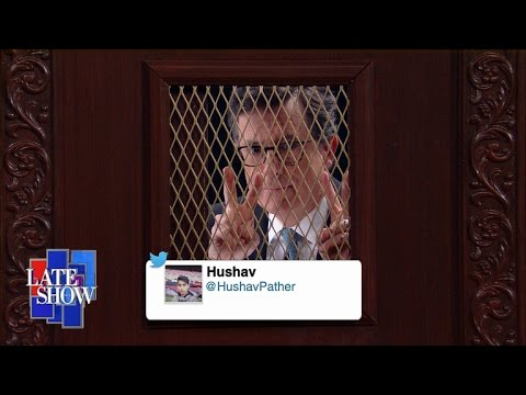 Stephen Colbert's Midnight Confessions: Twitter Edition