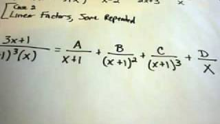 Partial Fraction Decompositions and Long Division
