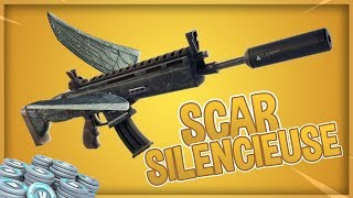 THE NEW SCAR SILENCIEUSE ON FORTNITE! ( Patch Not 5.40)
