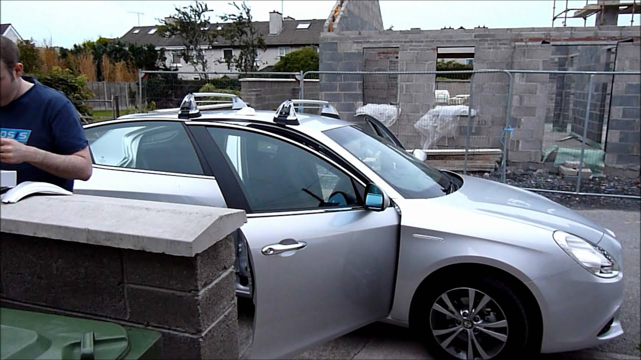 Alfa Giulietta Roof Rack Youtube