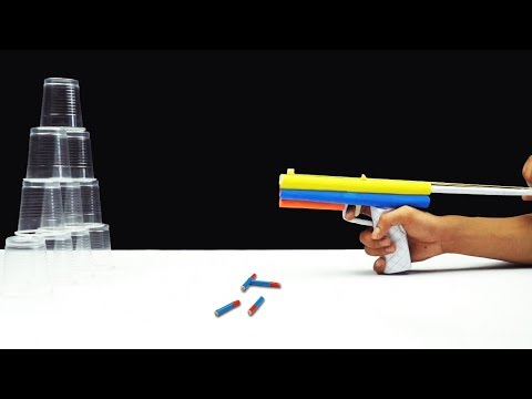 DIY Paper! How to Make a Paper Gun - Life Hacks for Gun