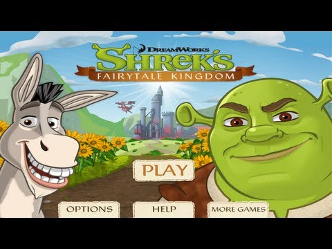 Shrek's Fairytale Kingdom Gameplay Trailer with Commentary iPhone/iPod/iPad (Universal) FREE
