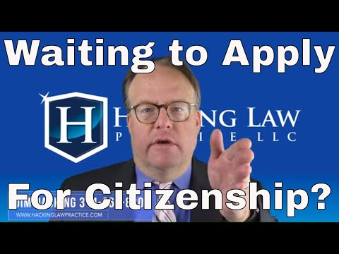 Why Should I Wait The Full 5 Years To Apply For Citizenship?