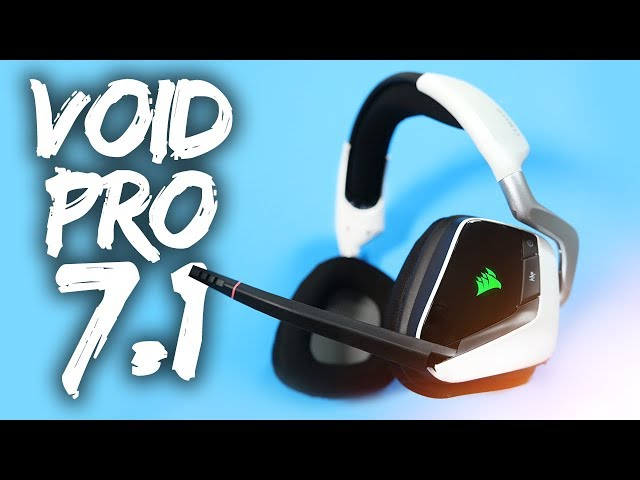 fee91fe9393 08:47. Corsair VOID Pro RGB Wireless Gaming Headset Review! randomfrankp  349514 просмотров