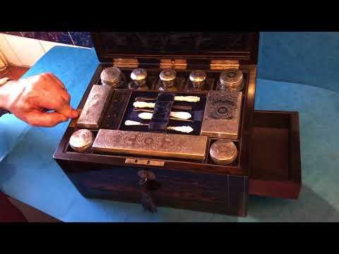 Antique Victorian Vanity Box for Sale Online