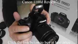 Canon Camera Review - Canon 1100d Review