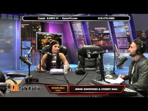 Modern Male Radio Ep. 32 (Dating and Relationships) V-DAY - Jerod Zavistoski - Karen Vi