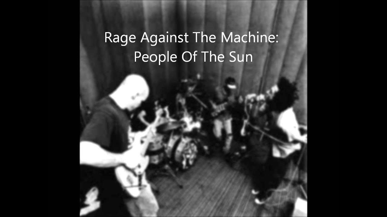 rage against the machine of the sun
