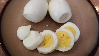 How To Make Easy Hard Boiled Eggs: Classy Cookin' With Chef Stef
