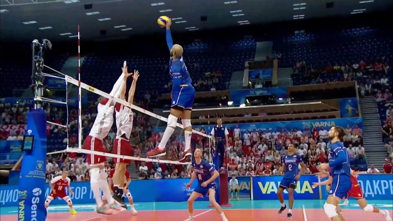 The KING of Crazy Volleyball Actions | Earvin N'Gapeth | Craziest Player in the World (HD)