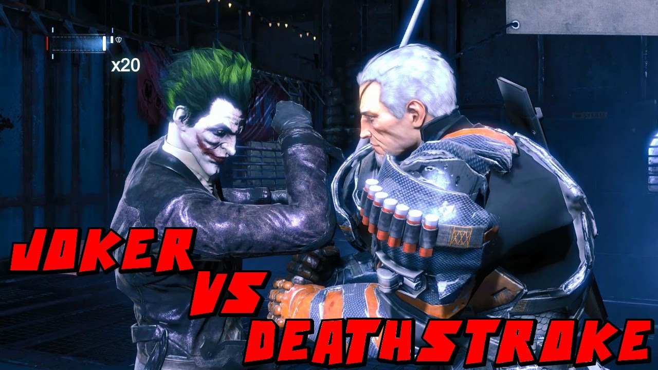 batman arkham origins how to get deathstroke