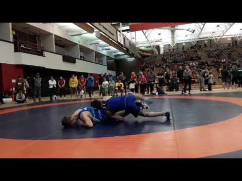 2016 Dino Invitational: 57 kg Bronze Eric Robertson vs. Brendan McKeage