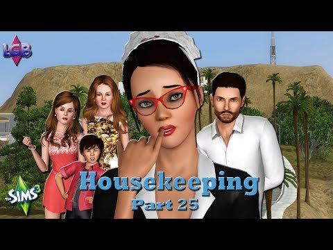 The Sims 3: Housekeeping Part 25 Clubbing & Potty Training
