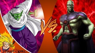 PICCOLO vs MARTIAN MANHUNTER! (Dragon Ball Z vs DC) Cartoon Club de la Lucha Episodio 119 REACCIÓN!!!